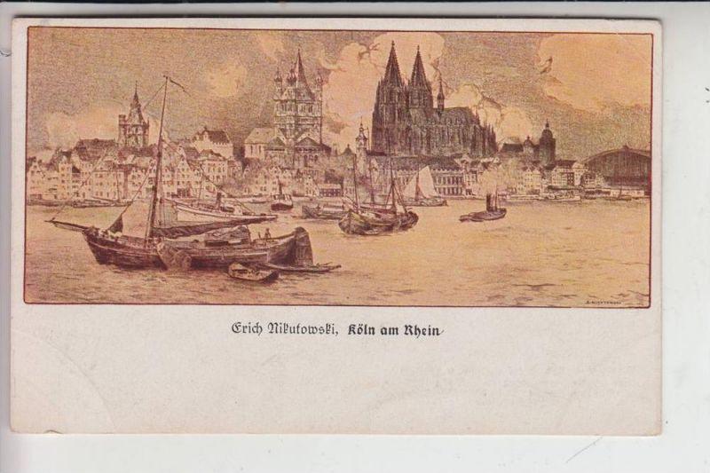 Künstler Köln 5000 köln künstler karte erich nikutowski maler der düsseldorfer