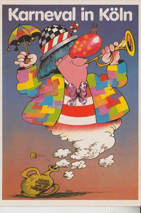 5000 KÖLN, KARNEVAL - Karnevalsplakat 1982/83,