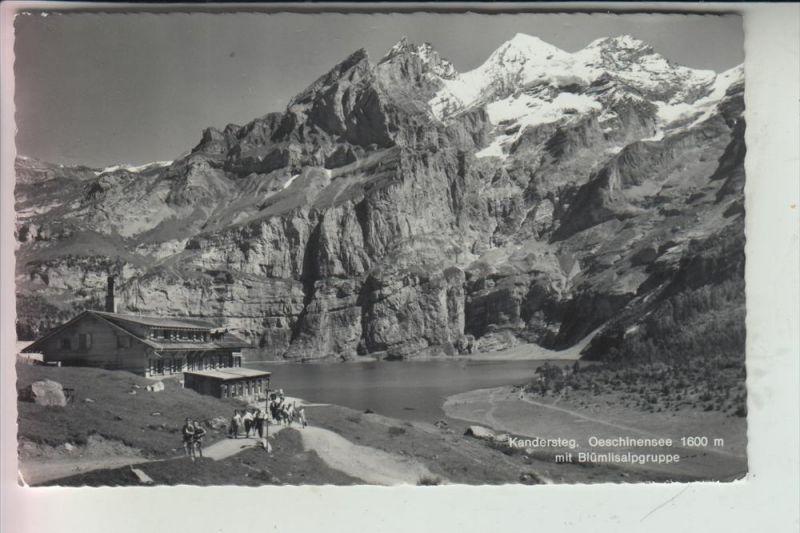 CH 3718 KANDERSTEG, Oeschinensee 1965