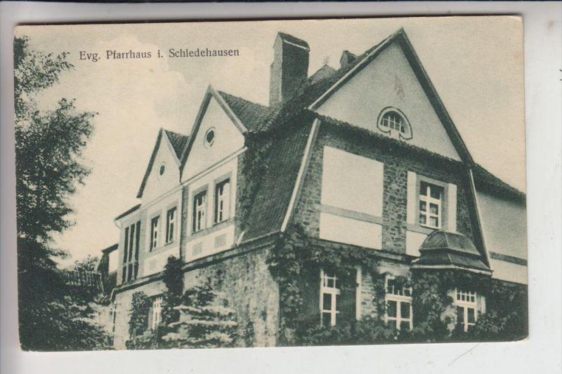4516 BISSENDORF - SCHLEDEHAUSEN, Evang. Pfarrhaus