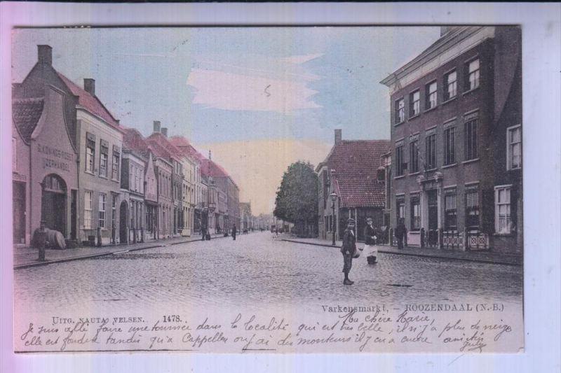 NL - NOORD.BRABANT - ROOSENDAAL - Varkensmarkt, 1904