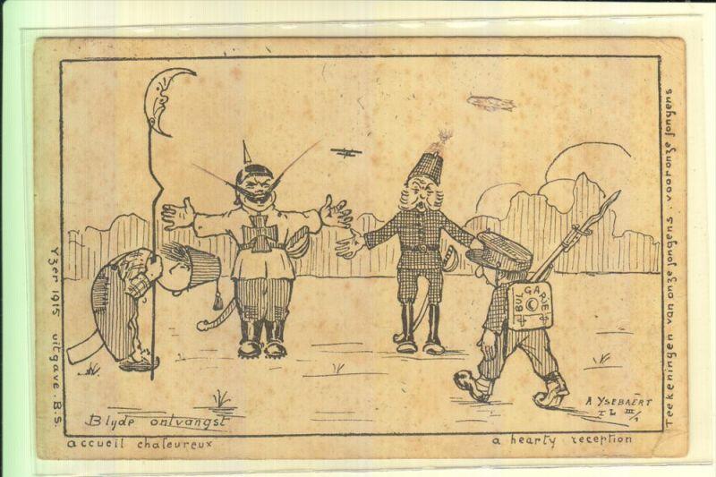 MONARCHIE - DEUTSCHLAND - Karikatur KAISER WILHELM II