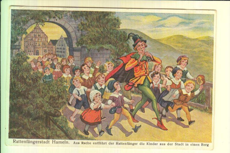 MÄRCHEN / Fairy Tales / Histoire / Der Rattenfänger von Hameln, 1933