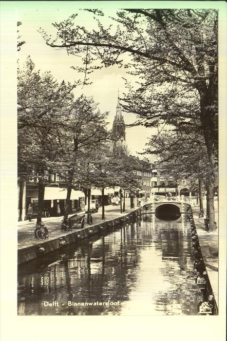 NL - ZUIDHOLLAND - DELFT - Binnenwatersloot, 1965