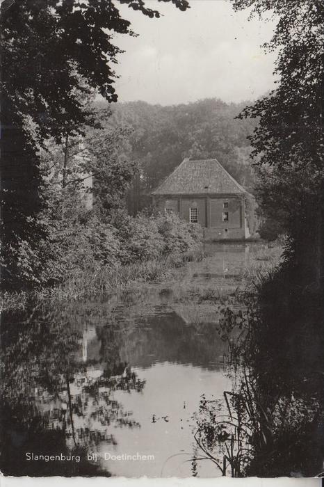 NL - GELDERLAND - DOETINCHEM, Slangenburg, 1954