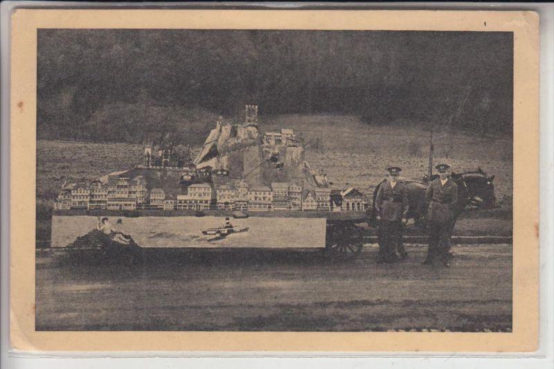 5330 KÖNIGSWINTER, Drachenfels und Königswinter, gefertigt von Schwerkriegsbeschädigten