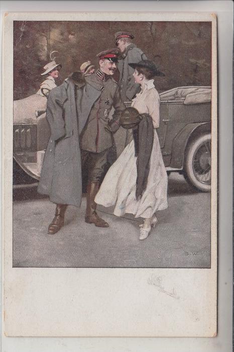 KÜNSTLER - ARTIST - Brynolf WENNERBERG, Kriegspostkarte Nr.20,