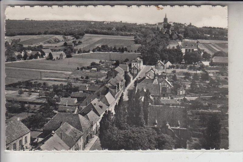 4240 EMMERICH - ELTEN, Blick auf Elten mit Stiftskirche, 1959
