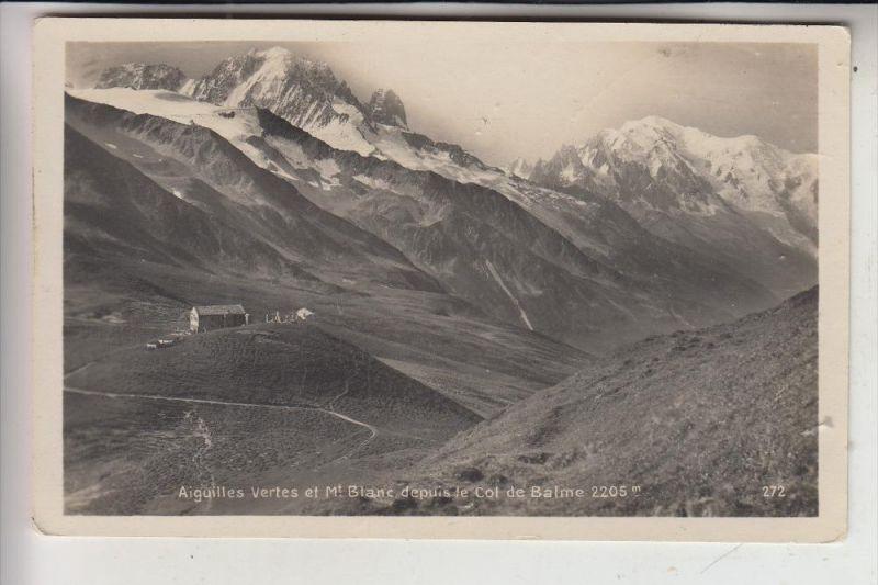 CH 1929 TRIENT, Col de Balme, Mont Blanc