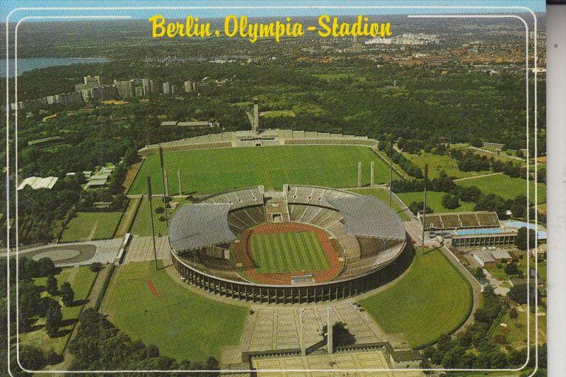 SPORT - FUSSBALL - STADION, BERLIN, Olympia Stadion, Luftaufnahme