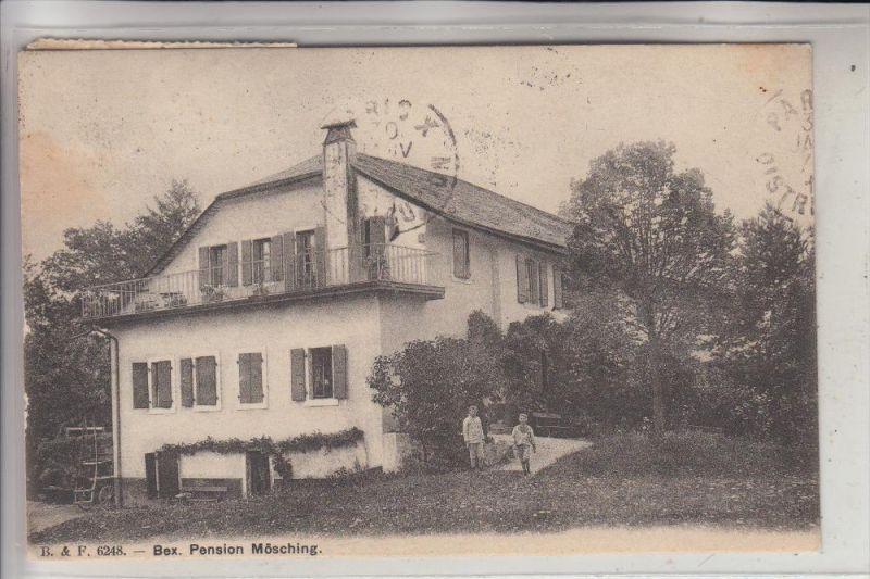 CH 1880 BEX VD, Pension Mösching, 1914