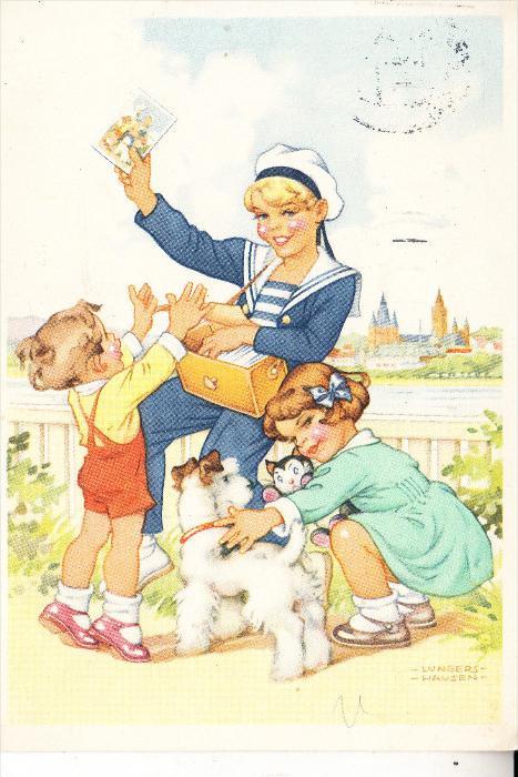 WERBUNG - BLENDAX - Zahnpasta, 1954