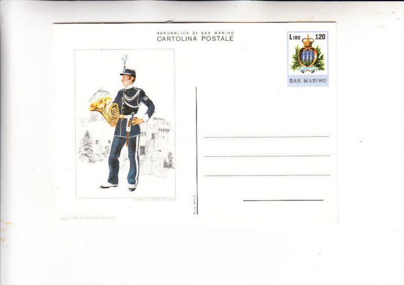 SAN MARINO, 1979, Interi Postali C48 1, Ganzsache, postal stationary