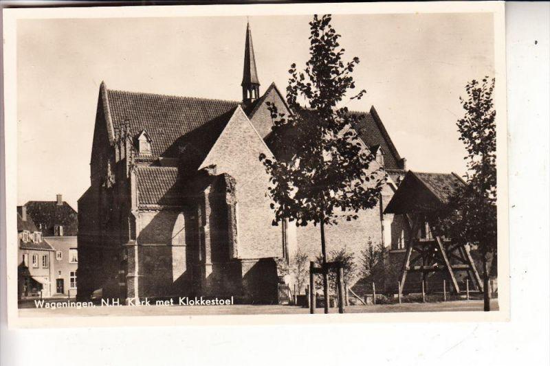 NL - GELDERLAND - WAGENINGEN, N.H. Kerk met Klokkestoel