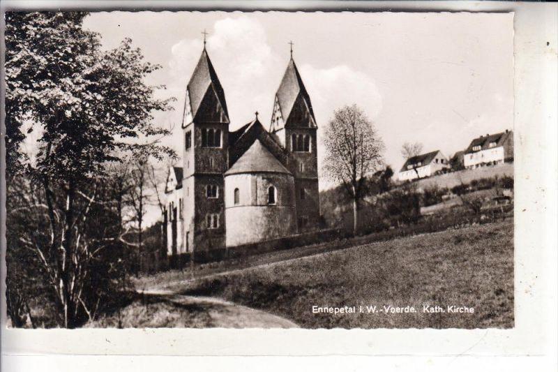 5828 ENNEPETAL - VOERDE, Kath. Kirche