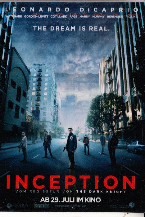 inception film essay Critique of film score from 'inception' without a doubt, inception, directed by christopher nolan, is a very well done film its highly complex plot and.