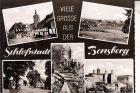 5060 BERGISCH GLADBACH - BENSBERG, Mehrbild-AK, 1959