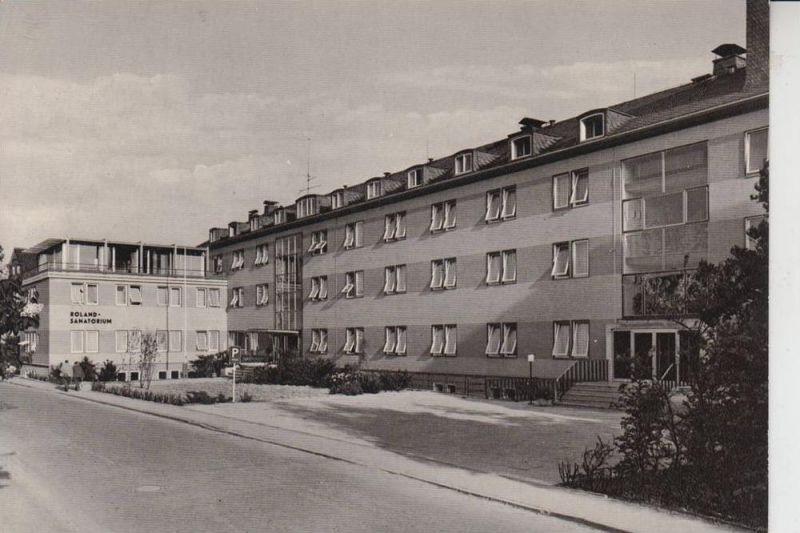 4934 horn bad meinberg roland sanatorium nr 203393422 oldthing ansichtskarten deutschland. Black Bedroom Furniture Sets. Home Design Ideas