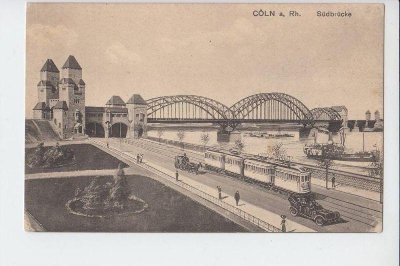 5000 KÖLN, Köln-Bonner-Eisenbahn an der Südbrücke