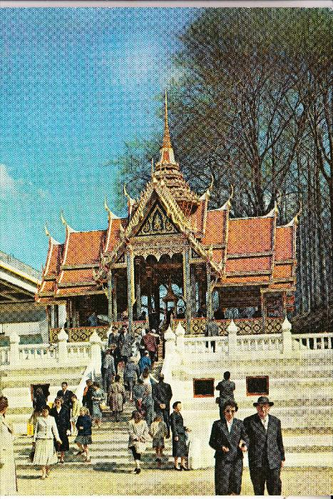 EXPO - BRUSSEL 1958, Pavillon THAILAND / SIAM