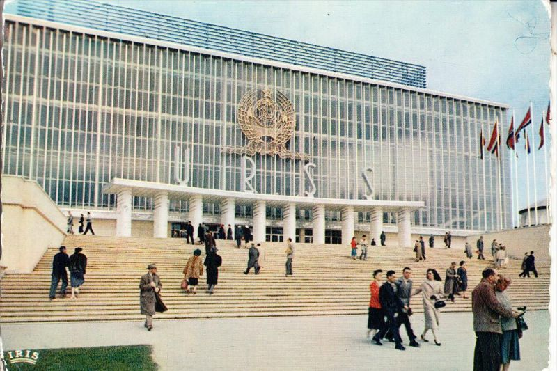 EXPO - BRUSSEL 1958, Pavillon USSR
