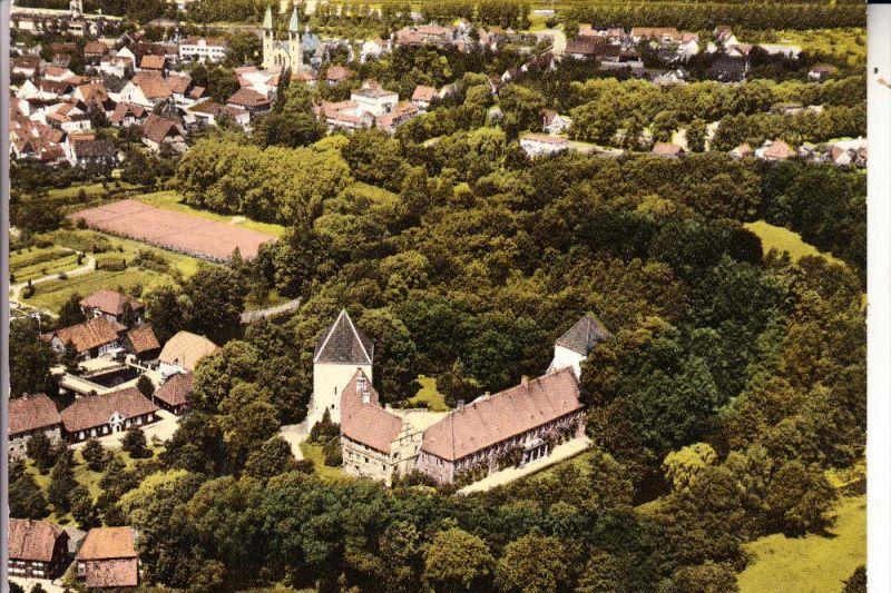 4840 RHEDA - WIEDENBRÜCK, Schloß / Umgebung, Luftaufnahme