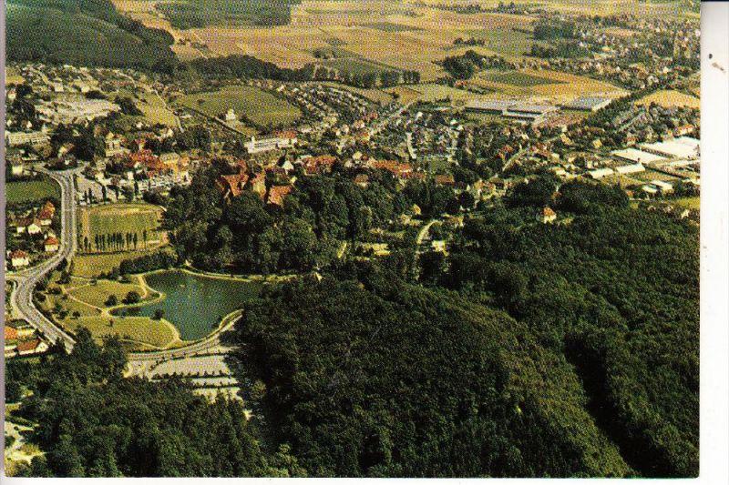 FUSSBALL - STADION - BAD IBURG, Luftaufnahme