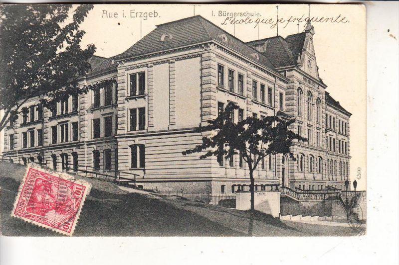 0-9400 AUE, I. Bürgerschule, 1907