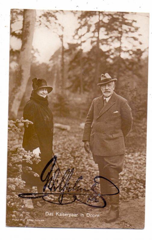 MONARCHIE - DEUTSCHLAND, Kaiser Wilhelm II, Doorn, Autograph / Facsimile 0