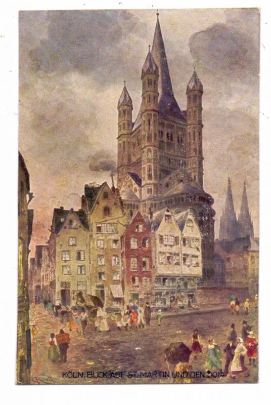 Künstler Köln 5000 köln kirche st lyskirchen binnenschiffe hafeneinfahrt