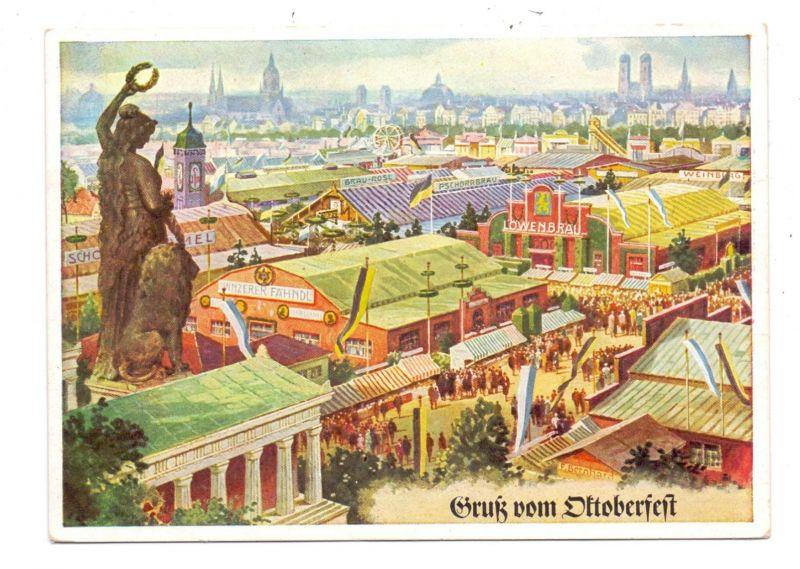 8000 MÜNCHEN, Gruß vom Oktoberfest