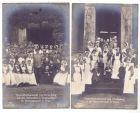 POSEN - PINNE / PNIEWY, 1. Weltkrieg, Hindenburg, Besuch des Reservelazetts, 2 AK