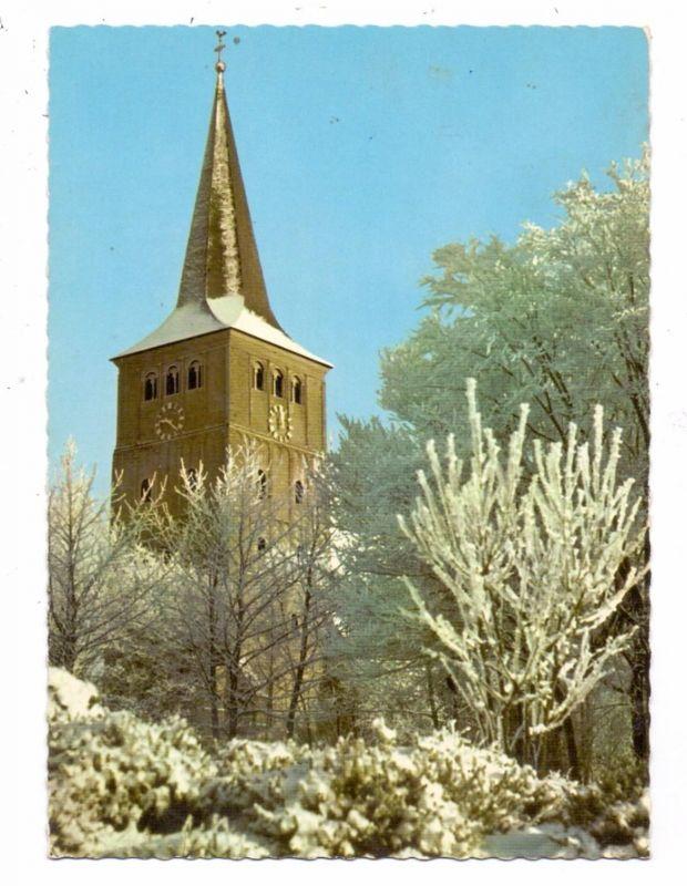 4240 EMMERICH - ELTEN, Stiftskirche Hochelten im Schnee