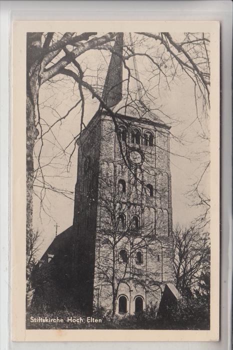 4240 EMMERICH - ELTEN, Stiftskirche Hoch Elten / Bouwsteen voor herstel van ....