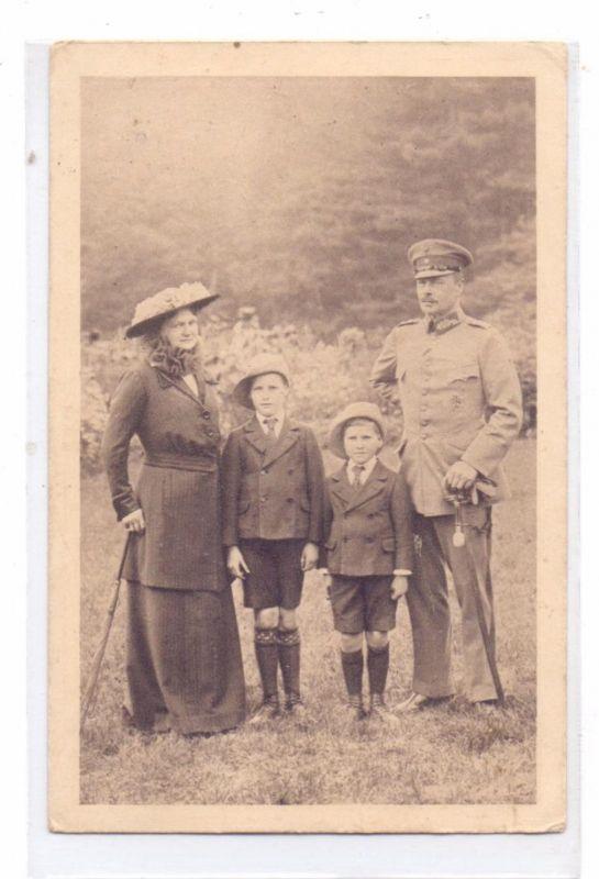 MONARCHIE - DEUTSCHLAND, Grossherzog Ernst-Ludwig von Hessen-Darmstadt und Familie, 1915