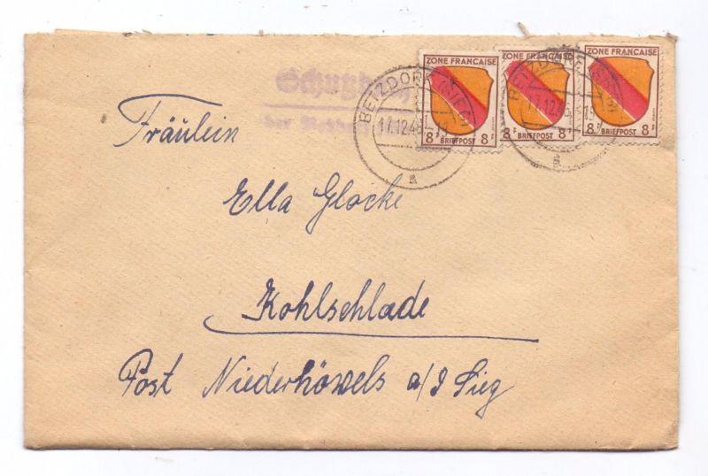 5244 DAADEN - SCHUTZBACH, Postgeschichte, Landpoststempel