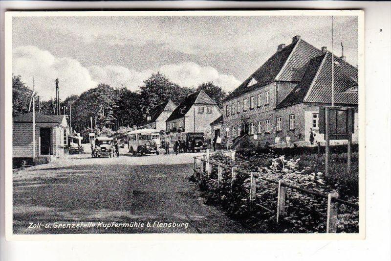 2390 FLENSBURG, Deutsch - Dänische Grenze Kupfermühle