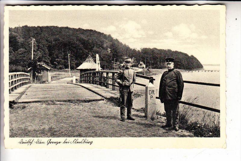 2390 FLENSBURG, Deutsch - Dänische Grenze bei Flensburg