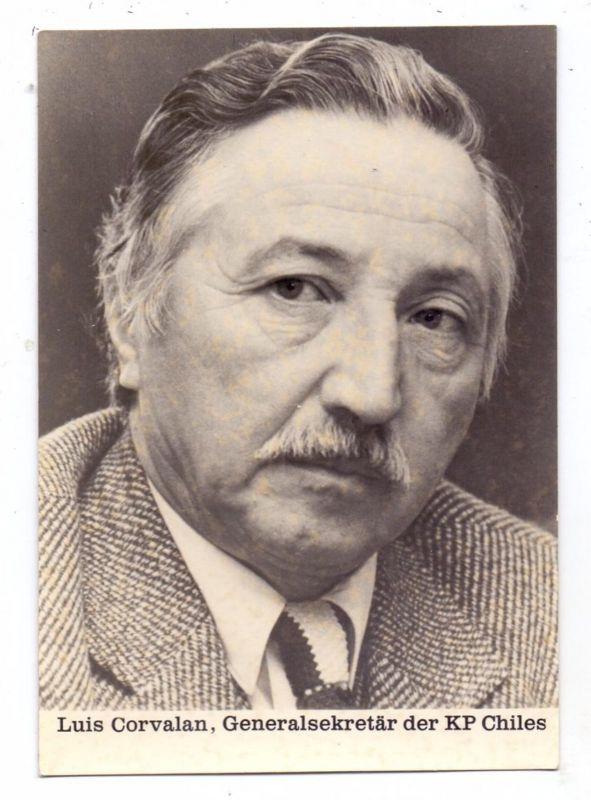 POLITIK - LUIS CORVALAN; Generalsekretär KP-Chiles