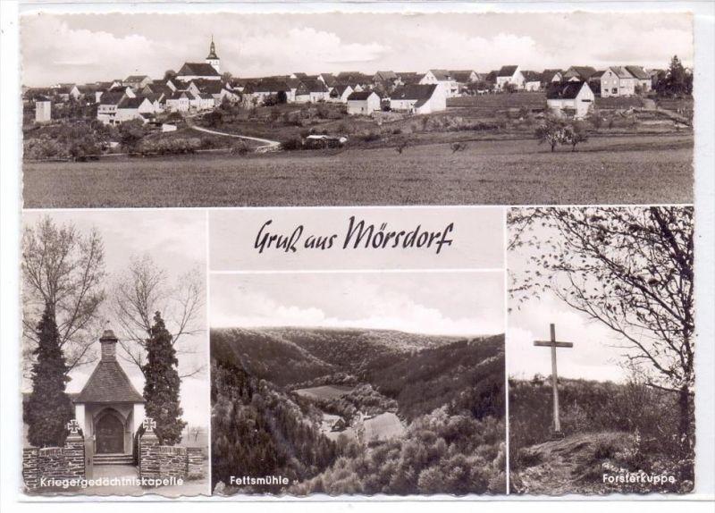 5448 KASTELLAUN - MÖRSDORF, Mehrbild-AK, 1962