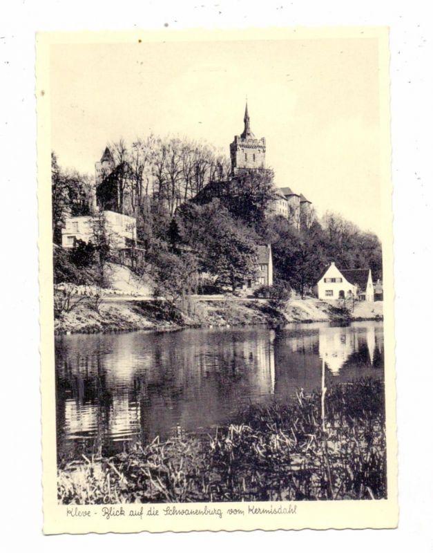 4190 KLEVE, Kermisdahl, Schwanenburg