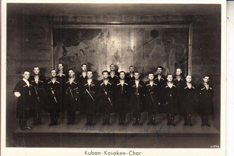 MUSIK / MUSIC - Kuban Kosaken Chor, Autograph Juskaeff