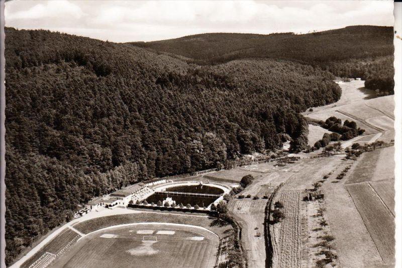 FUSSBALL - STADION - Michelstadt im Odenwald, Luftaufnahme
