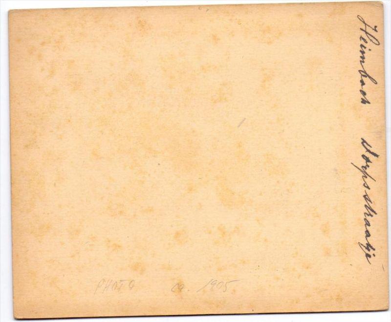 5169 HEIMBACH, Photo 1905, Dorfstrasse, Photo im Rahmen - Photo 12,5 ...
