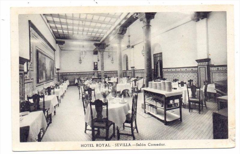 E 41000 SEVILLA, Hotel Royal, Salon Comedor Nr. 361732990 - oldthing ...