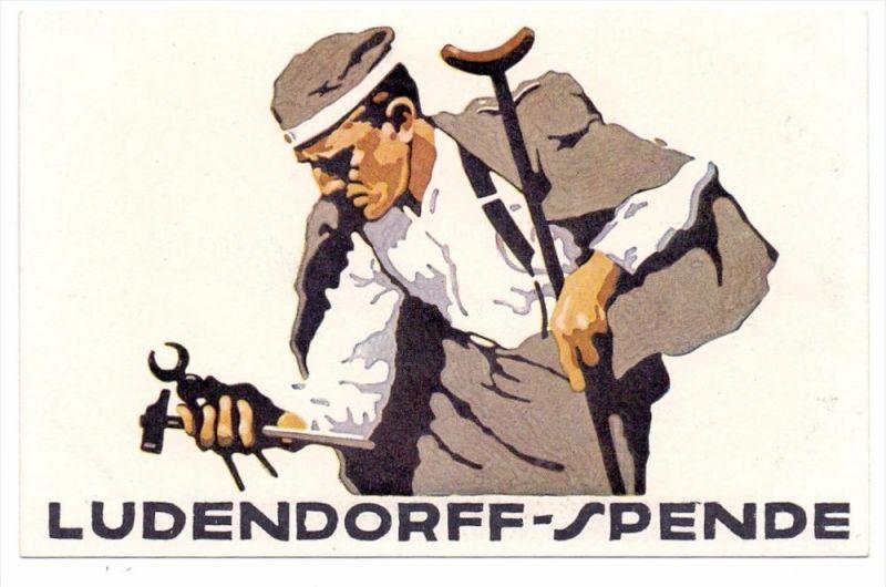 KÜNSTLER / ARTIST - LUDWIG HOHLWEIN, 1.Weltkrieg, Ludendorff-Spende, sehr gute Erhaltung