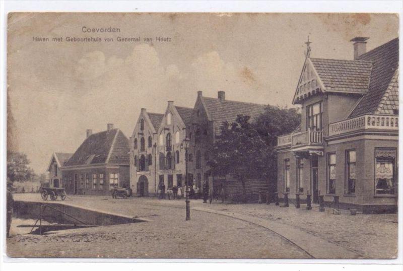 NL - DRENTHE - COEVORDEN, Haven, Geboortshuis van Generaal van Heutz