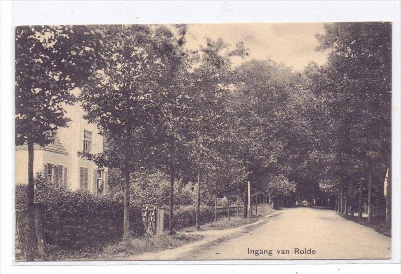 NL - DRENTHE - ROLDE, Ingang van Rolde