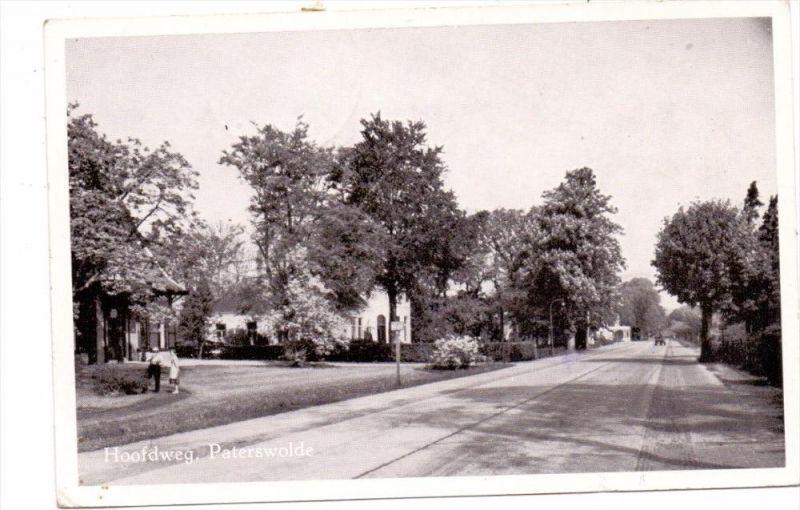 NL - DRENTHE - TYNAARLO-PATERSWOLDE, Hoofdweg, 1953