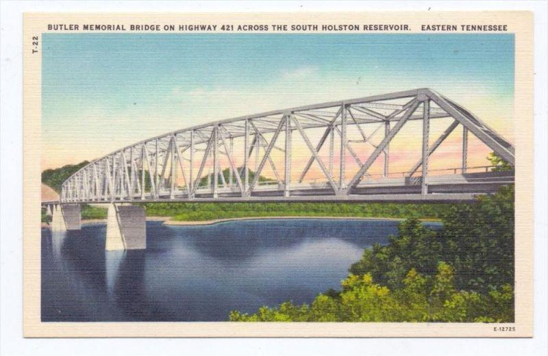 BRÜCKEN / Bridge / Pont - Butler Memorial Bridge, Tennessee